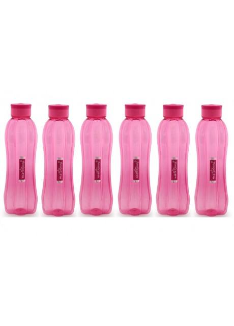 Masterware Flora Pet bottle of 1000ml .(Set of 6)