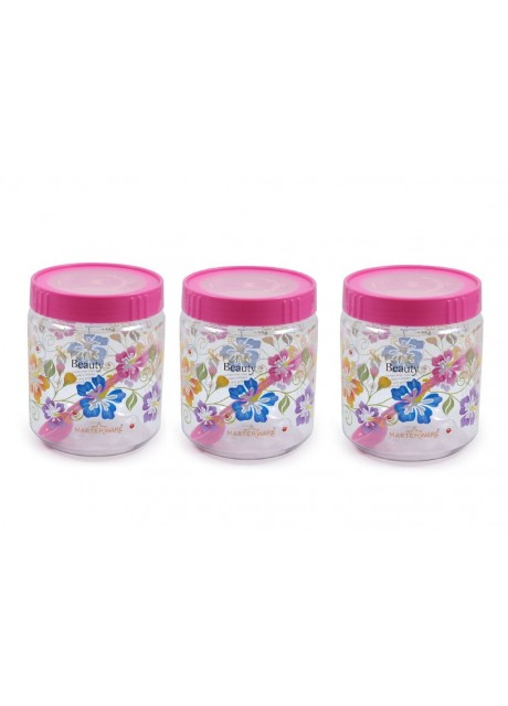 Masterware queen jar 1000ml.(Pack of 3)