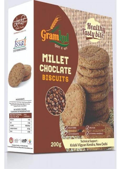 GramKul Millet chocolate Biscuits