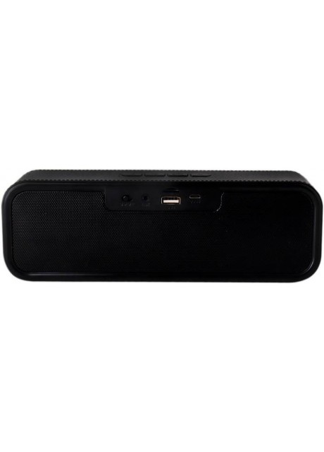 PRAJO Premium Design Portable Bluetooth Speaker 5 W Bluetooth Speaker  (Black, Stereo Channel)