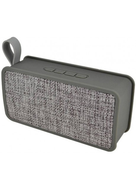 PRAJO Wireless Portable Bluetooth Speaker With Micro SD & USB Support 4 W Bluetooth Speaker  (Grey, Stereo Channel)