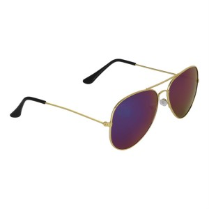 Voila Blue Aviator Sunglasses