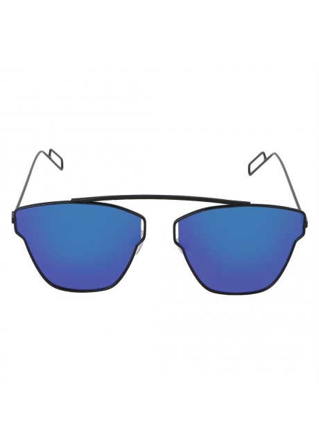 Voila Blue Aviator Sunglasses