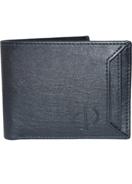 Prajo Men Black Artificial Leather Wallet