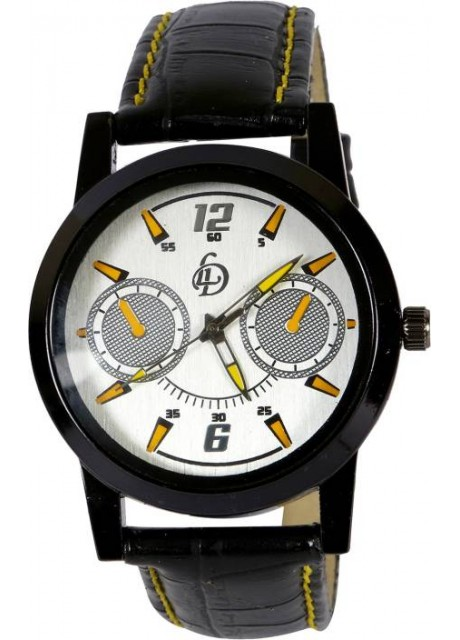 LD-Beige-Yellow-0053 New collection Watch for Men