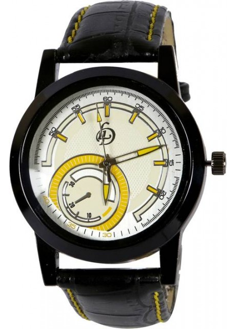 LD-Beige-Yellow-0054 New collection Watch for Men