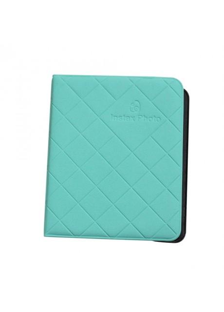 Shopizone Mini 36 Pockets Album for Instax Mini 8/9 / 9+ Accessory Travel Diary to Store Memories - Green