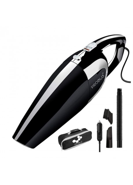Shopizone High Power Multi-Function Car Vacuum Cleaner (Black)