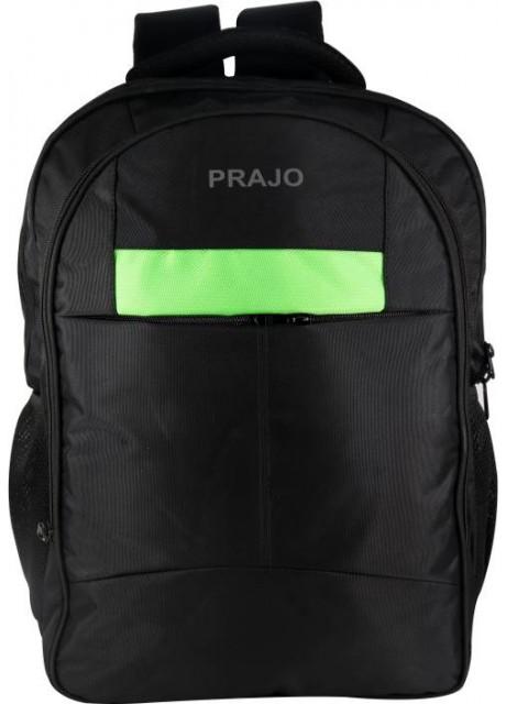 Prajo laptop bag black n Green