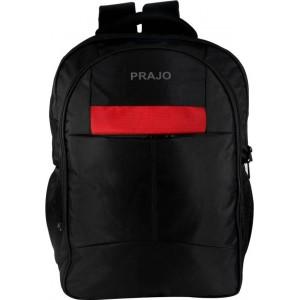 Prajo laptop bag black n Red