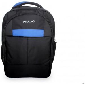 Prajo laptop bag black n Blue
