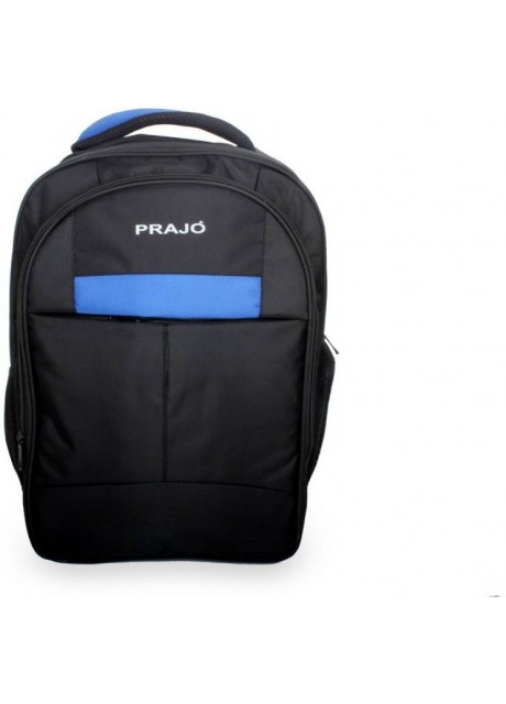 Prajo laptop bag black n Blue