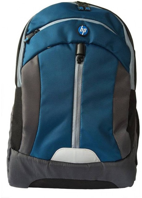 "HP 18"" Laptop bagpack Blue n Grey"
