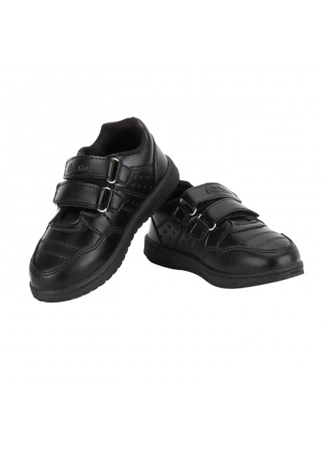 Airform Kids Black Genius School Shoes