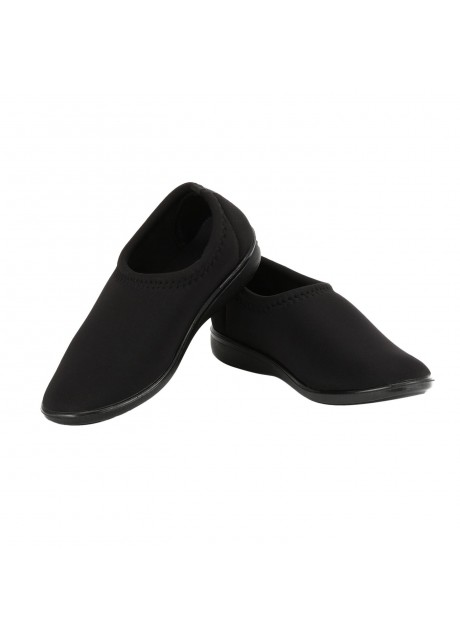 Airform Girls Black Casual Shoes
