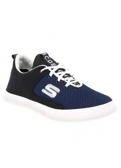 Voila Men's Navy Blue Running Shoes ( 6 7 8 9 10) (Navy Blue & white)